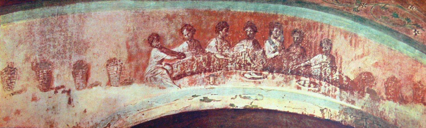 Picture of the 7 women frescoe
